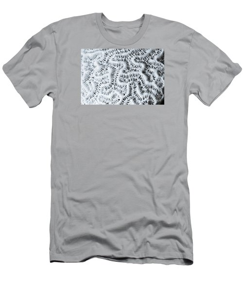 Dead Brain Coral Men's T-Shirt (Slim Fit) by Perry Van Munster