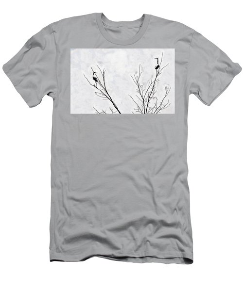 Dead Creek Cranes Men's T-Shirt (Athletic Fit)