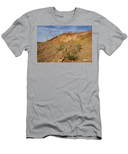 Death Valley Superbloom 202 Men's T-Shirt (Slim Fit) by Daniel Woodrum