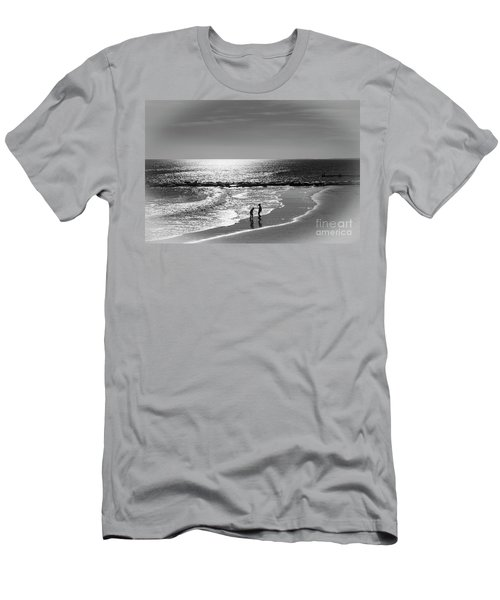December At The Jersey Shore Men's T-Shirt (Athletic Fit)