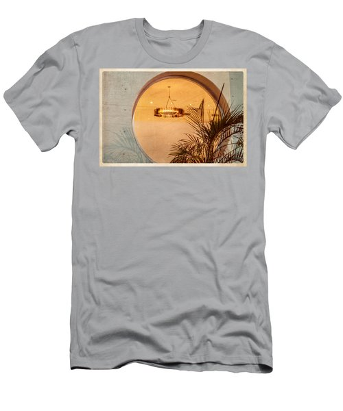 Men's T-Shirt (Athletic Fit) featuring the photograph Deco Circles by Melinda Ledsome