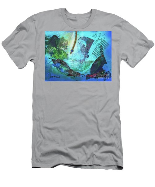 Deep Sea Life Men's T-Shirt (Athletic Fit)