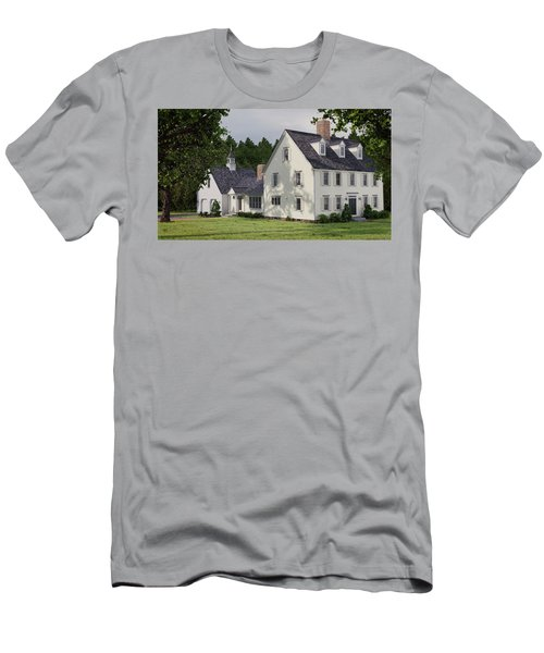 Deerfield Colonial House Men's T-Shirt (Athletic Fit)
