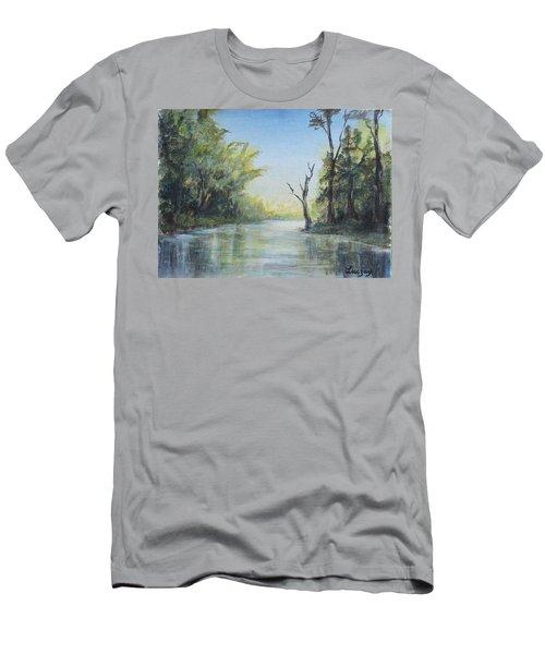 Delaware River  Men's T-Shirt (Athletic Fit)