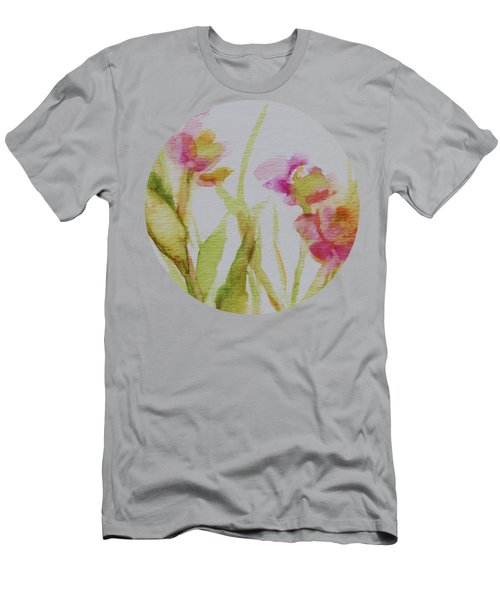 Delicate Blossoms Men's T-Shirt (Athletic Fit)