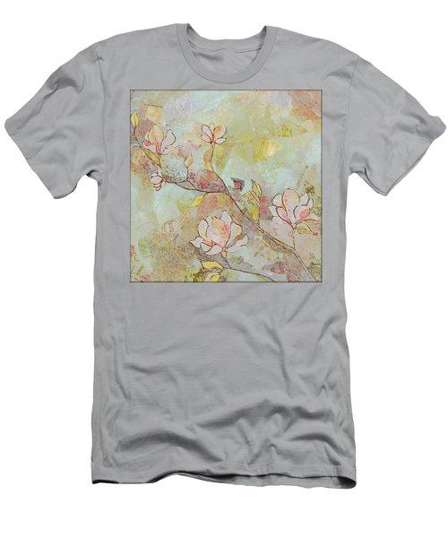Delicate Magnolias Men's T-Shirt (Athletic Fit)