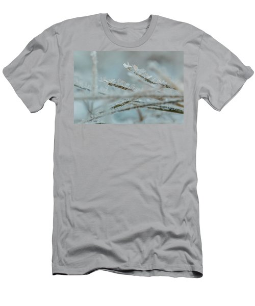 Delicate Morning Frost  Men's T-Shirt (Athletic Fit)