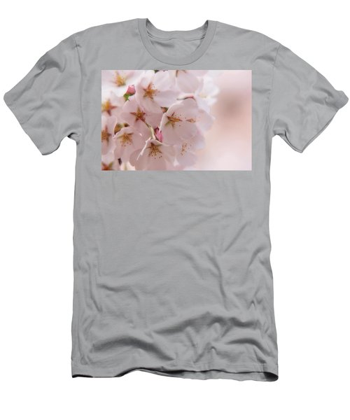 Delicate Spring Blooms Men's T-Shirt (Athletic Fit)