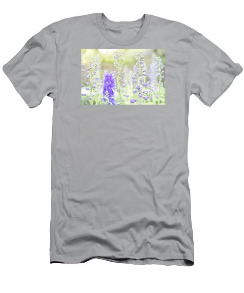 Delphiniums Men's T-Shirt (Slim Fit) by Mary Angelini