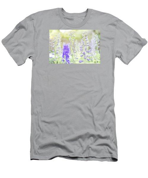 Delphiniums Men's T-Shirt (Slim Fit)