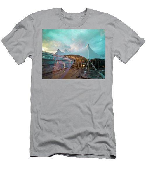 Denver International Airport Men's T-Shirt (Athletic Fit)