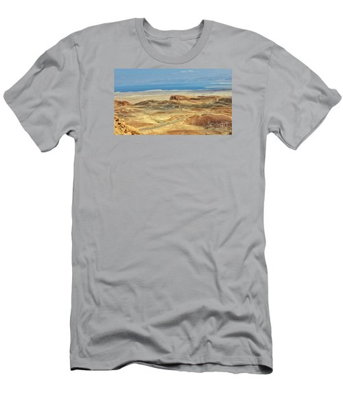 Desert And Dead Sea Men's T-Shirt (Athletic Fit)