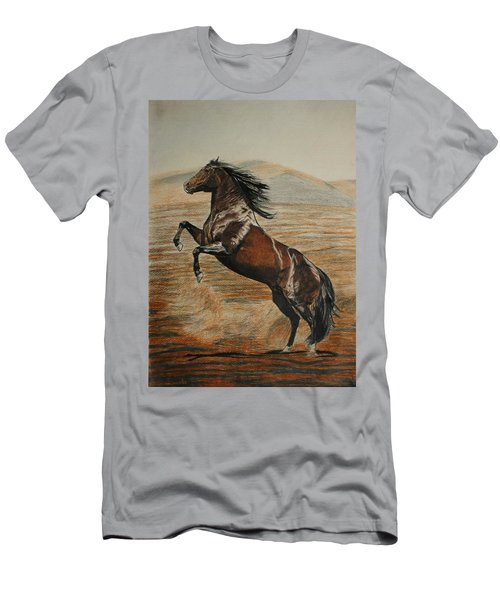 Desert Horse Men's T-Shirt (Athletic Fit)