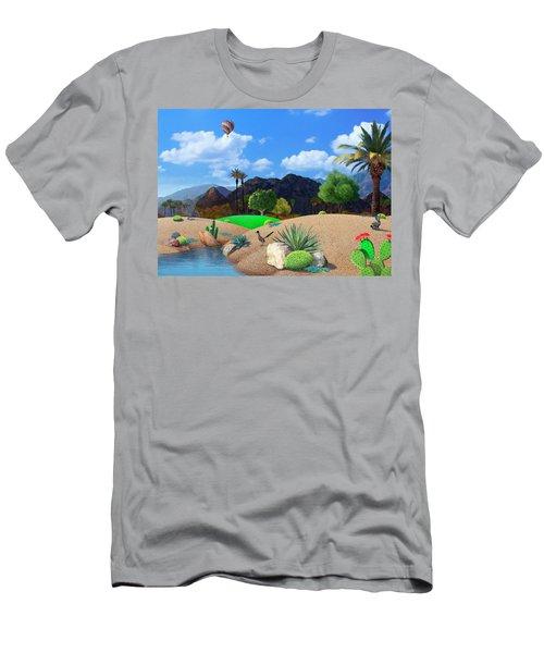 Desert Splendor Men's T-Shirt (Athletic Fit)