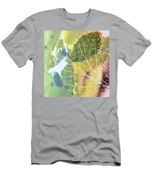 Men's T-Shirt (Slim Fit) featuring the photograph Desert Spring by Kathy Bassett