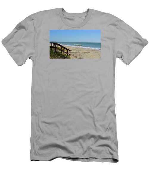 Deserted Men's T-Shirt (Slim Fit) by Carol Bradley