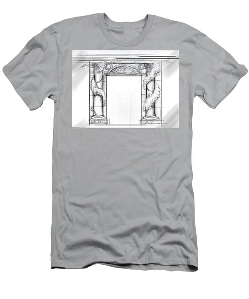 Design For Trompe L'oeil Men's T-Shirt (Athletic Fit)