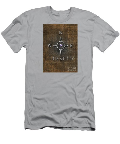 Men's T-Shirt (Slim Fit) featuring the digital art Destiny by Linda Prewer