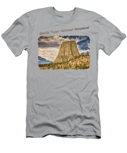 Devils Tower Inspiration 2 Men's T-Shirt (Athletic Fit)