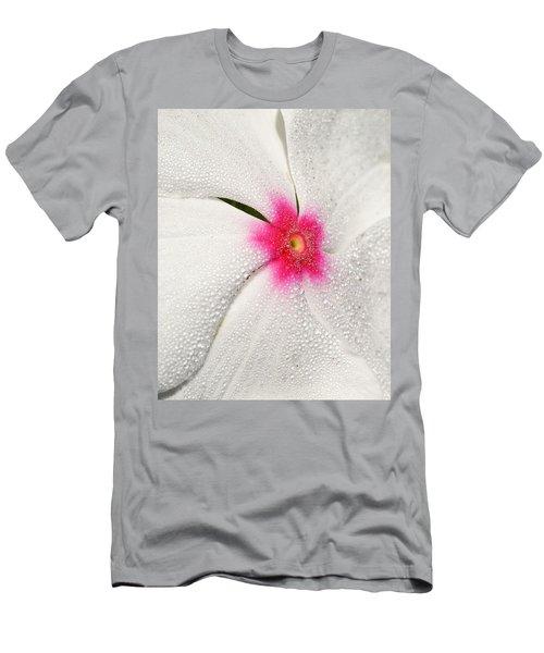Dew-sprinkled Periwinkle Men's T-Shirt (Athletic Fit)