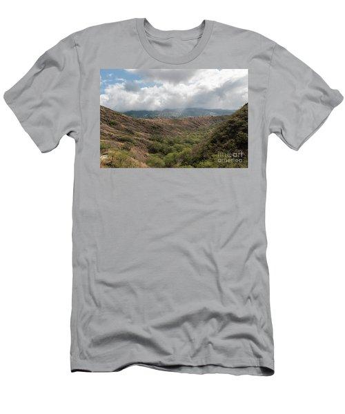 Diamond Head View Men's T-Shirt (Athletic Fit)