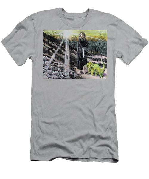 Did You Do That? Men's T-Shirt (Athletic Fit)