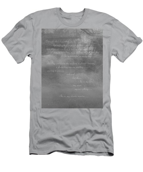 Digital Poem Men's T-Shirt (Athletic Fit)