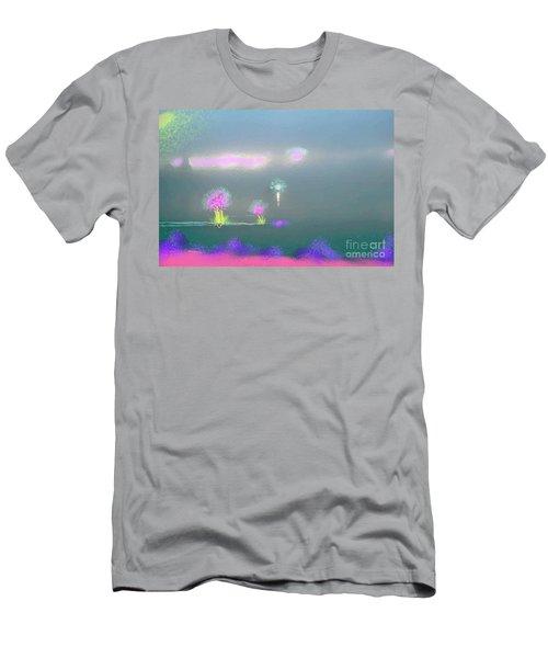 Digital Sunrise Men's T-Shirt (Athletic Fit)