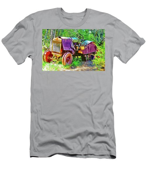 Dilapidated Tractor Men's T-Shirt (Athletic Fit)