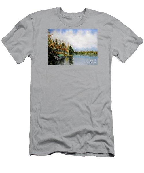 Dillman's Boathouse Men's T-Shirt (Athletic Fit)