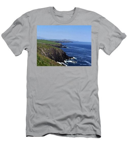 Dingle Coast Near Fahan Ireland Men's T-Shirt (Athletic Fit)