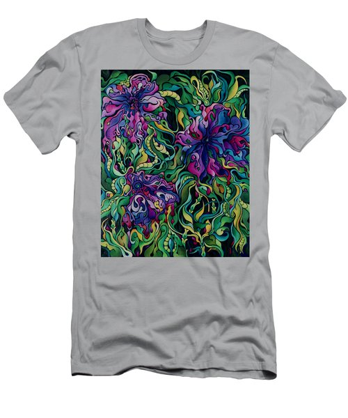 Dioxazine Disintegration Men's T-Shirt (Athletic Fit)