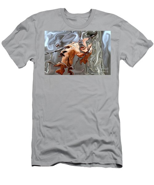Disintegration  Men's T-Shirt (Athletic Fit)