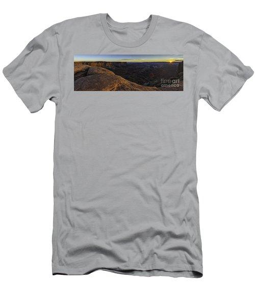 Dissolving Light Men's T-Shirt (Athletic Fit)