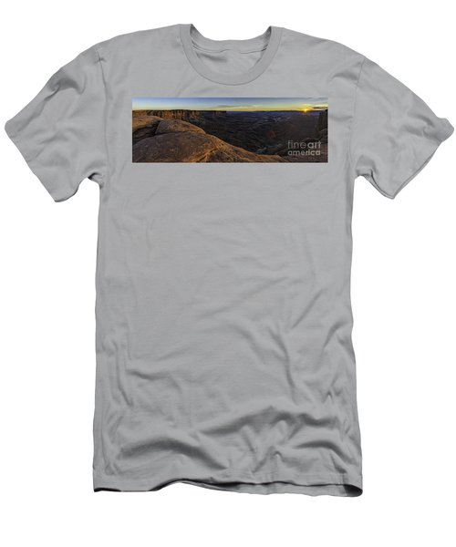 Dissolving Light Men's T-Shirt (Athletic Fit)