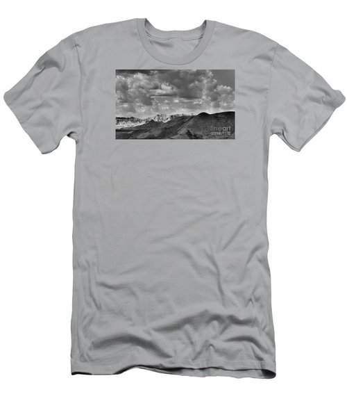 Distant Mountains The Badlands Men's T-Shirt (Athletic Fit)