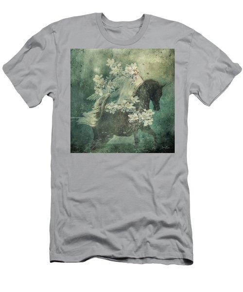 Divine Horse Whisperer Men's T-Shirt (Athletic Fit)