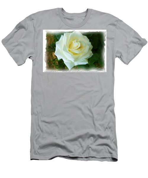 Men's T-Shirt (Slim Fit) featuring the photograph Do-00300 La Rose De Aaraya by Digital Oil