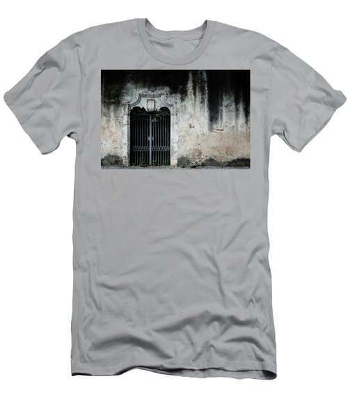 Men's T-Shirt (Slim Fit) featuring the photograph Do Not Enter by Marco Oliveira