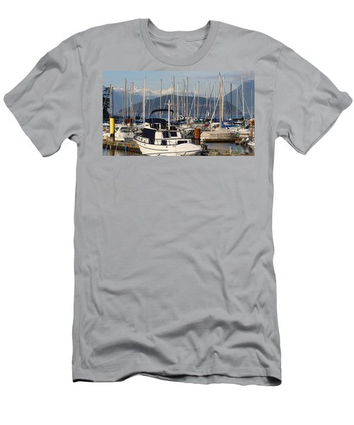 Docked For The Day Men's T-Shirt (Slim Fit) by Rod Jellison