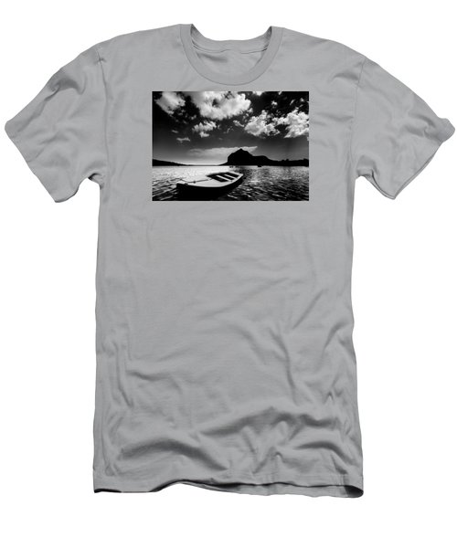 Men's T-Shirt (Athletic Fit) featuring the photograph Docked by Julian Cook