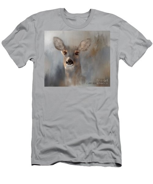 Doe Eyes Men's T-Shirt (Slim Fit) by Kathy Russell