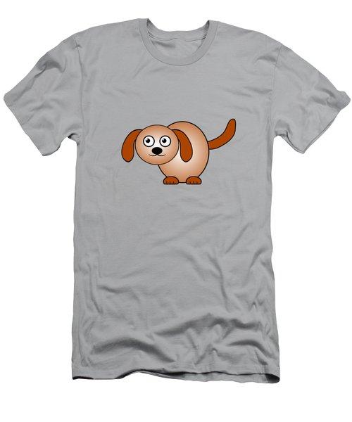 Dog - Animals - Art For Kids Men's T-Shirt (Athletic Fit)