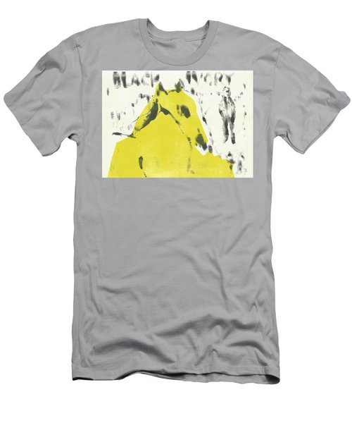 Dog At The Beach - Black Ivory 2 Men's T-Shirt (Athletic Fit)