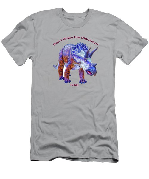 Dont Wake The Dinosaur Men's T-Shirt (Athletic Fit)