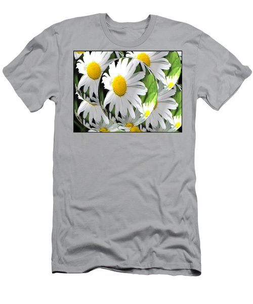 Doo Wop Daisies Men's T-Shirt (Athletic Fit)