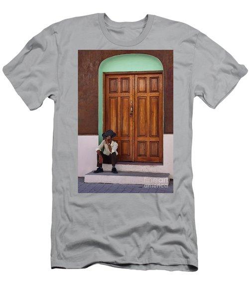 Door In Guatemala Men's T-Shirt (Athletic Fit)