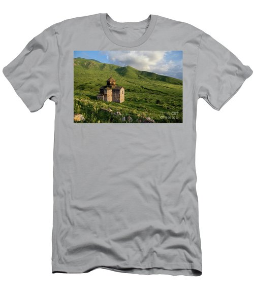 Dorband Monastery In The Field, Armenia Men's T-Shirt (Athletic Fit)