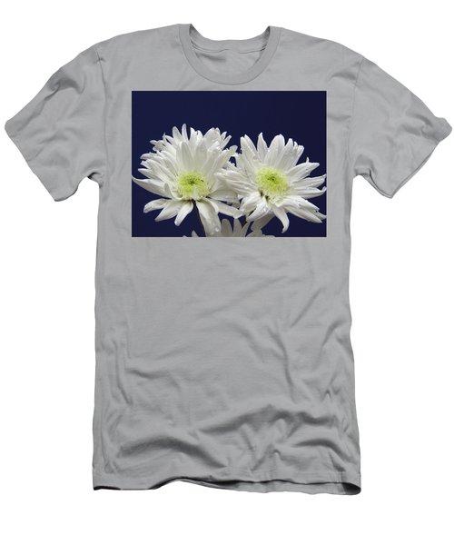 Double Dahlia Men's T-Shirt (Athletic Fit)