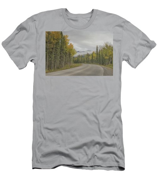 Down The Road  Men's T-Shirt (Athletic Fit)